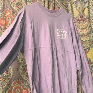 Tops - Lavender Auburn University oversized t shirt